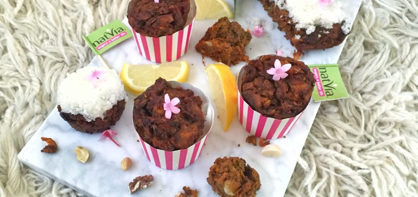 Healthy Carrot Cake Muffins with a Citrus Twist