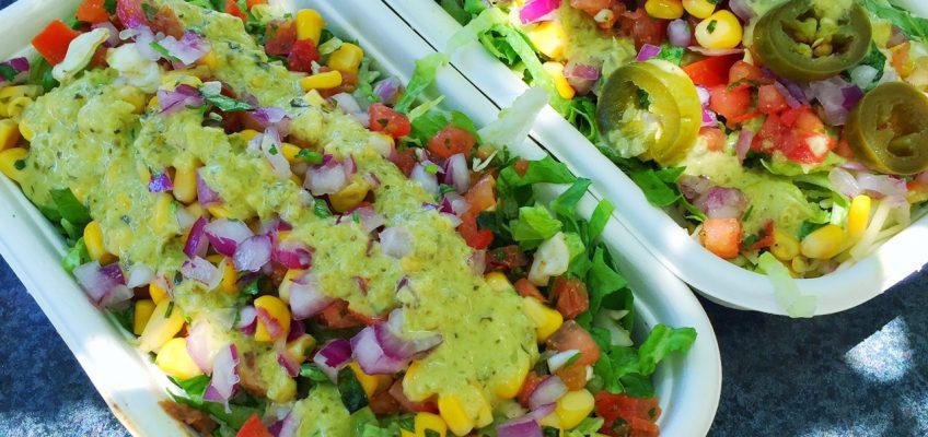 Healthy Avocado Burrito Bowls