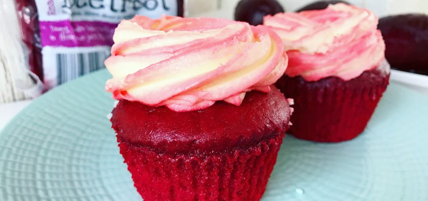Healthy Red Velvet Muffins