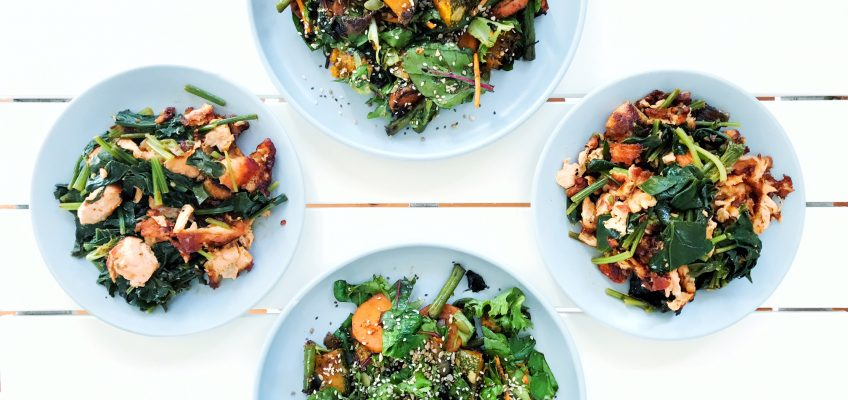 Seven Simple Salad Dressings