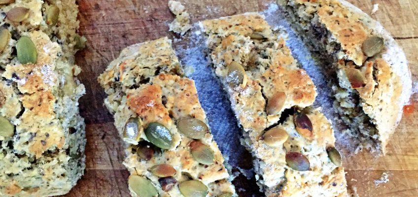 Super Seeded Gluten-free Bread Recipe