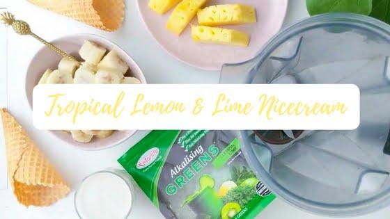 Tropical Lemon & Lime Nicecream