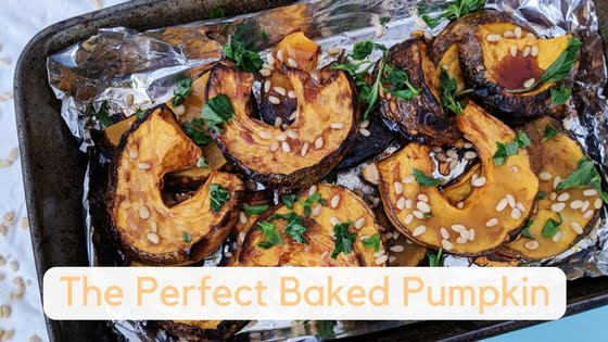 The Perfect Baked Pumpkin