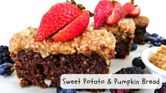 Sweet Potato & Pumpkin Bread