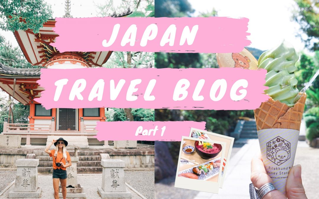 Japan Travel Blog: Part 1