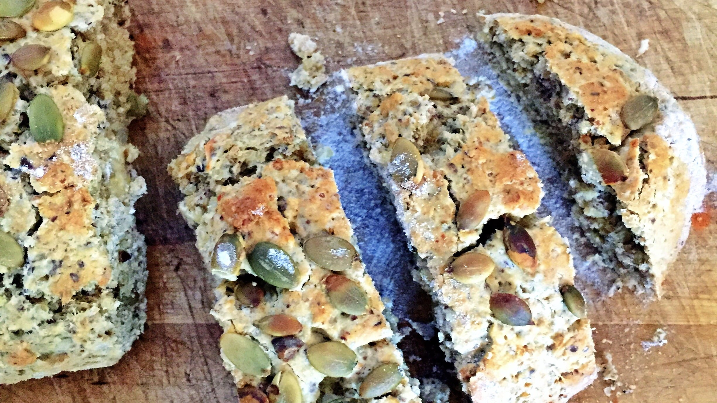 Super Seeded Gluten-free Bread Recipe