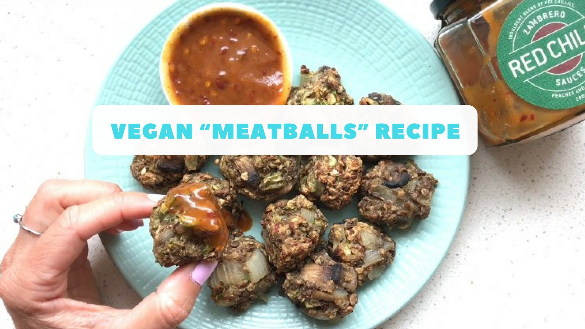 "Vegan ""Meatballs"" Recipe"