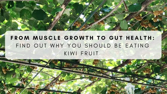From Muscle Growth To Gut Health: Find Out Why You Should Be Eating Kiwi Fruit