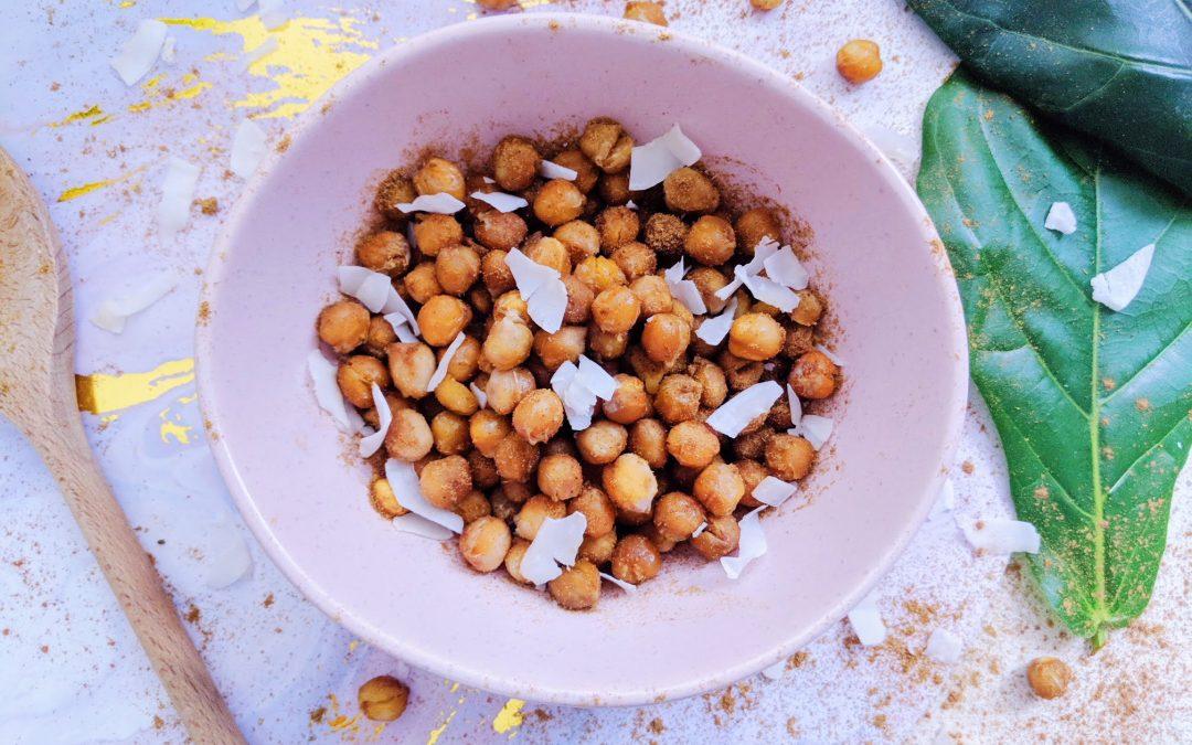 Coconut Roasted Chickpeas