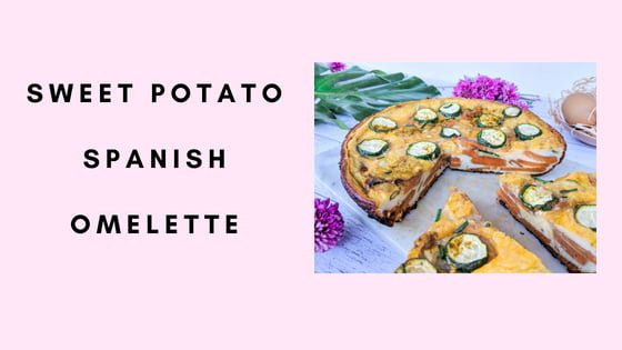 Sweet Potato Spanish Omelette