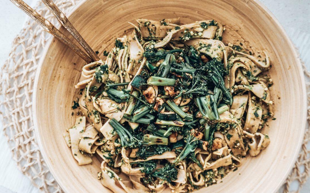 Green Powerhouse Pesto Pasta