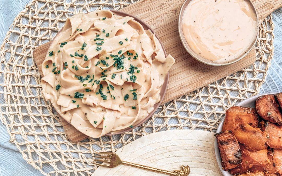 Creamy & Healthy Carbonara