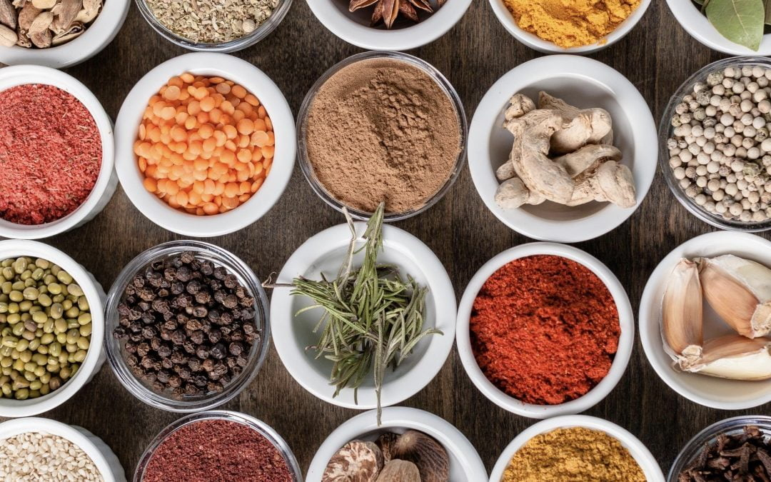 Quick Guide To Common Spices, Their Health Benefits and How to Use Them