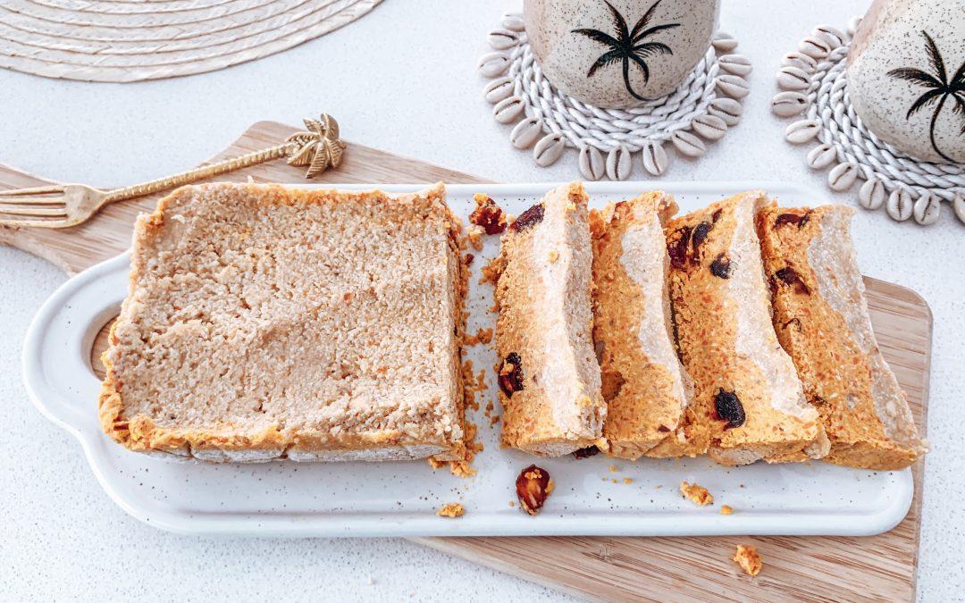 Healthy Carrot Cake No-Bake Slice