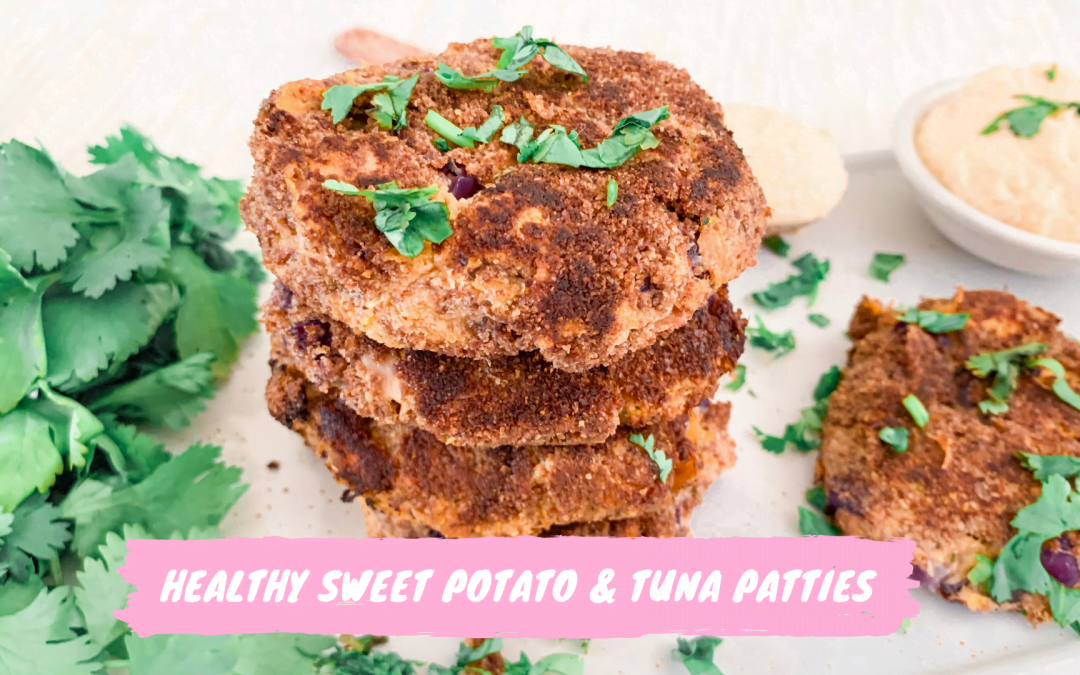 Healthy Sweet Potato and Tuna Patties