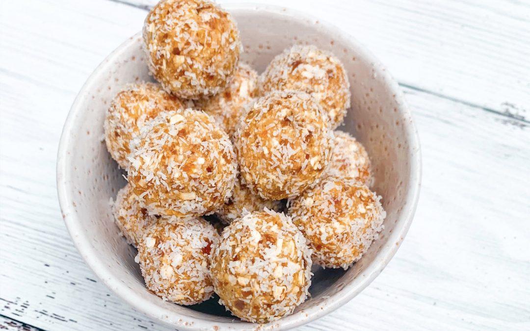 Apricot & Coconut Energy Balls