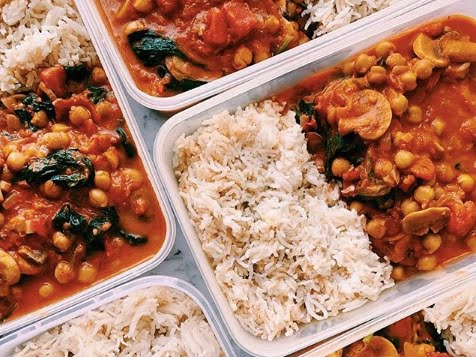 Mushroom and Chickpea Curry